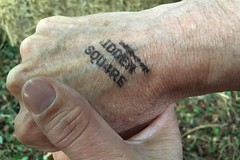 02 hand stamp (Margaret Stranks) Tags: hiddensqu4reminifestival colnstaldwyns gloucestershire uk fundraiser charity harambeeschoolskenya
