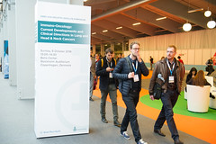 advertisment_announcers 012 (European Society for Medical Oncology) Tags: esmo esmo16 day3 advertising billboards
