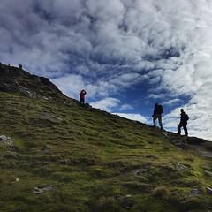 Final pull to the top (barronr) Tags: scotland lochlomondthetrossachsnationalpark benlomond theptarmigan