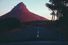 Untitled (elsableda) Tags: cape town southafrica colors lions head mountain road traveling travel africa lights light sunset sun