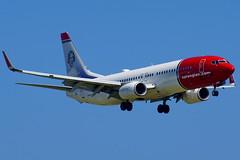 LN-DYG  737-8JP Norwegian (Antonio Doblado) Tags: barcelona elprat aviación aviation airplane airliner aircraft lndyg boeing b737 737 norwegian