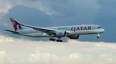 A7-ALF - Airbus A350-941 - LHR (Seán Noel O'Connell) Tags: a7alf airbus a350941 lhr a350 a359 qatarairways 09r heathrowairport qr1