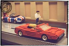 Seen at the Skaerbaek Fan Weekend - 008 (Priovit70) Tags: lego moc miniland vehicles diorama afol skaerbaekfanweekend 2016 event outrun olympuspenepl7