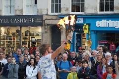 Street Performer, Edinburgh (Secondcity) Tags: edinburgh streetperformer edinburghfestivalfringe highstreet royalmile