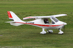 G-CEIE - 2007 build Flight Design CTSW, visiting Barton (egcc) Tags: 061001 8243 barton ctsw cityairport egcb flightdesign gceie hardman lightroom manchester microlight