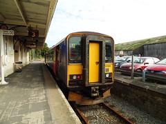 153380 Liskeard (3) (Marky7890) Tags: gwr 153380 class153 supersprinter dmu 2l79 liskeard railway cornwall train looevalleyline