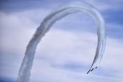 Blue Angels:: Barrel roll (so1150) Tags: fleetweek blueangels usnavy fa18 nikon d810 70200mmf28 sanfranciscobay