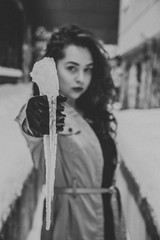 Laura (qauqe) Tags: lxc vsco vscocam portrait photoshoot urban graffiti black white blue red streetstyle winter snow wall icycle kln tribe archipelago lightroom photography