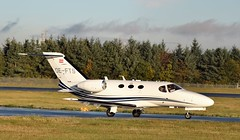 OE-FTS CESNA CITATION 510 (douglasbuick) Tags: aircraft cessna citation 510 oefts austrian private executive jet plane aviation scotland flickr airport egph edinburgh nikon d3300