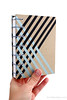 Black and Silver Stripe Washi Tape Journal handbound book by Ruth Bleakley - 1 (MissRuth) Tags: copticstitch copticjournal copticbookbinding washitape decotape journal handmadebook bookbinding bookarts diary giftsforwriters