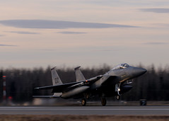 Successful first day of RF-A 17-1 (Eielson Air Force Base) Tags: aircombat training exercise aircraft usaf pacaf pacificairforces alaskarange multinational joint aerial partnership f15eagle vampires eielsonairforcebase alaska unitedstates