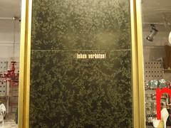 leben verboten! (mkorsakov) Tags: dortmund city innenstadt sticker aufkleber minimal wand wall typo verbot forbidden hrhr forbidbusting yeah