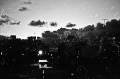 TriX 400 (FelipeBe) Tags: kodak trix 400 asa film pelicula analogico blanco y negro byn bn black white uruguay montevideo amanecer sunrise horizonte nubes nube clouds cloud sky cielo