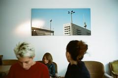 Film (Florent Faust) Tags: analog film camera olympus om zuiko 35mm street actress belgium brussel photo streetphoto photography landscape portrait city kodak color c41