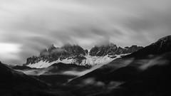 Fading (sffbigmac) Tags: clouds wolken fog nebel mountains berge villnoess valley tal snow schnee rain regen autumn herbst geisler geislerspitzen villns dolomiten dolomites