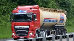 D - Albers Logistik DAF XF 106 SC (BonsaiTruck) Tags: ffb feldbinder albers daf xf 106 lkw lastwagen lastzug silozug truck trucks lorry lorries camion silo bulk citerne powdertank