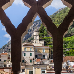Amalfi 1 (Johnners61) Tags: amalfi italy italia europe hoilday vacation cathedral framed view pen olympuspen mft m43 micro four thirds microfourthirds epm2