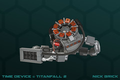 Time Device - Titanfall 2 (Nick Brick) Tags: lego titanfall 2 titanfall2 time travel device anderson jack cooper bt bt7274 titan life size 11 nickbrick