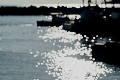 Water Reflections Water Reflections Reflection Sunlight Ships Seaside Sea And Waves Sea Seascape No People (T.M Photos) Tags: waterreflections water reflections reflection sunlight ships seaside seaandwaves sea seascape nopeople