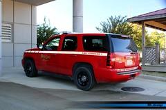 "Biloxi MS Fire Dept ""Fire Command 1"" (FutureLEO1994) Tags: fire chevrolet tahoe red chevy command steelie dept department lightbar biloxi mississippi"