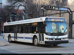 Winnipeg Transit #773 (vb5215's Transportation Gallery) Tags: winnipeg transit 2009 new flyer d40lfr