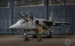 """ Good To Go"" (SJAviation.net) Tags: raf aircraft nikon aviation t4 jet 238squadron ez tle jaguar xx847 rafcosford sepecat"