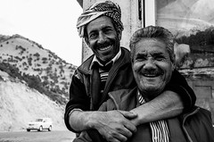 Love by the mountains (sarhanghars) Tags: people men mountain bw blackandwhite