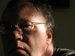 docman's selfie 2005 (doc(q)man) Tags: portrait selfportrait face claireobscur light dark contrast spectacles glasses 54yearsold age docman