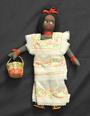 Mexican Doll Yucatan Vintage (Teyacapan) Tags: yucatan mujer woman muneca doll huipil baskets vintage mexico costumes trajes