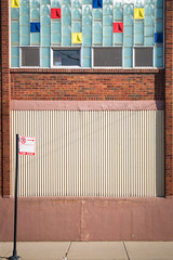 (327/366) Architectural Geometry (CarusoPhoto) Tags: hd pentaxda l 1850mm f456 dc wr re hdpentaxdal1850mmf456dcwrre pentax ks2 chicago west town neighborhood john caruso carusophoto photo day project 365 366 squares geometry wall windows street