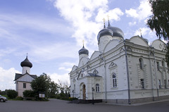 The Intercession Cathedral and the Church of Saint Simeon, Zverin Monastery