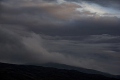 falling away (gavin.hoskins) Tags: clouds wrynosepass hardknotpass sky noise landscape view canoneos60d lakedistrict outside evening outdoors autumn