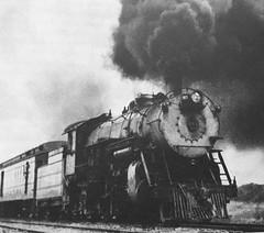 CB&Q steam locomotives  Pacific  #2971 . (Chicago Rail Head) Tags: steamlocomotives cbq burlingtonroute everywherewest passengertrains pacific 462