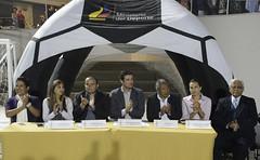 Entrega de la Cancha Deportiva de Uso Mltiple El Rosal (Ministerio Deporte Ecuador.) Tags: ministeriodeldeporte xavierendericasalgado cancha toctiuco indumentaria quito pichincha ecuador