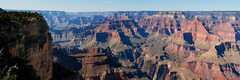 South Rim Panorama (Sworldguy) Tags: southrim grandcanyon arizona magestic wideshot panoramic pano nationalpark parks travel nikon d7000 dslr landscape landmark geology bigsky cliff brightangel adventure rocks desert scenic rimtrail plateau channels layers usa widening