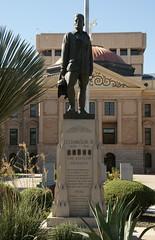 Statue - Lt. Frank Luke, Jr. (SpeedyJR) Tags: ©2016janicerodriguez phoenixaz statue statues phoenixarizona arizona speedyjr