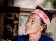 Wrinkles (Dion Cragg) Tags: portrait thailand thai chiangmai oldlady oldwoman wrinkles hdr صورسكس سیکسی