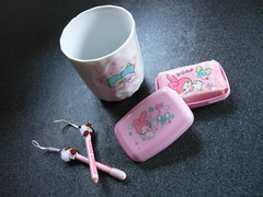 little twin stars my melody set (My Sweet 80s) Tags: mug cup porcelain tazza glass trinketsminipencilssoapmymelodysoapceramicglassbicchiereceramicaltslittletwinstarsmymelodyvintagesanriovintagesanriovintagestylehellokittystationariescollectablescharactersjapanmadeinjapan197680s90sanni80anni7070sann tazzina tazze cups mugs soap vintagesoap sapone toiletries articolidatoeletta articolidabagno