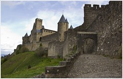 Carcassonne Castle (globetrottingpaul) Tags: city france castle history towers medieval walls carcassonne