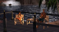 This Corona Moment from Front (Aisling Macmoragh) Tags: deck secondlife aisling homestuff ashestoashes piddlersperch