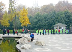 Umbrella Dance in Chinese Park (Stanley Zimny (Thank You for 16 Million views)) Tags: china park autumn trees people tree fall nature colors leaves umbrella automne catchycolors leaf dance colorful colours seasons natural fallcolors herbst chinese autumncolors fourseasons autunno autumnal colorexplosion 4seasons otono asain sgis ahorn naturephotos jesien changdu natureimages jesiennie