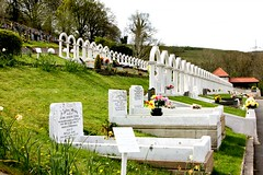 The children of Aberfan (Peter Denton) Tags: uk cemetery grave wales children memorial europe cymru eu disaster rhondda ncb massgrave aberfan coaltip