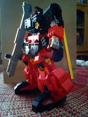 Dom trooper char custom 7 (Commander626) Tags: trooper century lego dom hard rick suit universal custom char gundam bot mech aznable