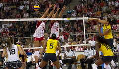 Poland : Brazil 2:3 (stendar) Tags: world brazil woman poland grand arena prix atlas volleyball volley lodz