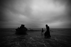 Stormy Weather (Shudipto) Tags: storm water river boat bangladesh megna munshiganj maowa