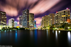 Miami (Eddie 11uisma) Tags: 3 seascape skyline canon landscape key long exposure downtown cityscape florida miami mark l 5d remote usm oriental timer 1740mm f4 brickell satechi mandatin