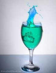 3 (3no0od Ebrahim) Tags: blue white black glass speed high aqua turquoise gray shutter anood  ebrahim          3nood     3no0od