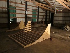 "mini halfpipe in progress • <a style=""font-size:0.8em;"" href=""http://www.flickr.com/photos/99295536@N00/7412268500/"" target=""_blank"">View on Flickr</a>"