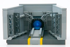 Stargate (ted @ndes) Tags: lego system micro stargate vignette 8x8 microscale