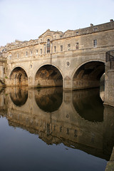 Bath | 57 (NickWoods) Tags: uk bridge england reflections river bath arches somerset avon riveravon georgianarchitecture pulteneybridge bridgearches